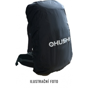 Raincover Raincoat to backpack Husky size. L, black, Husky