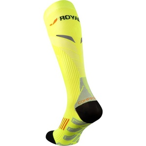 Compression knee socks ROYAL BAY® Neon 2.0 Yellow 1099, ROYAL BAY®