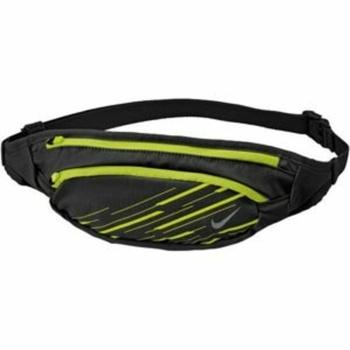 Waistbag Nike Large Capacity Waistpack Black / Volt / Silver, Nike