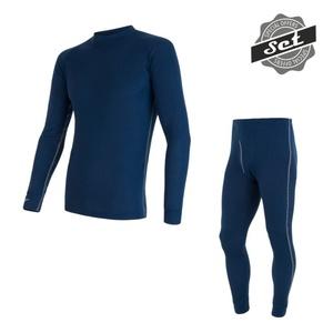 Men set Sensor ORIGINAL ACTIVE SET shirt + underpants dark blue 17200051, Sensor