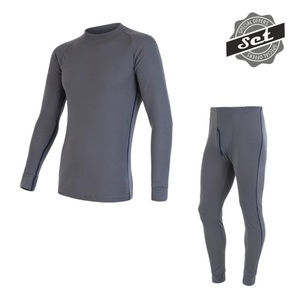 Men set Sensor ORIGINAL ACTIVE SET shirt + underpants grey 17200050, Sensor