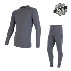 Men set Sensor ORIGINAL ACTIVE SET shirt + underpants grey 17200050, Sensor