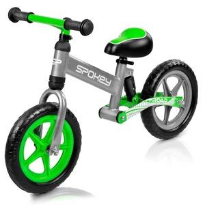 Children push bike Spokey OFF-ROAD grey-green, Spokey