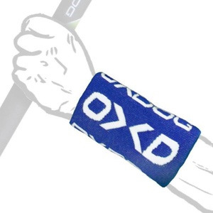 Sweat band OXDOG TWIST LONG Wristband blue / white, Oxdog