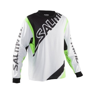 Goalkeeper jersey Salming Phoenix Goalie JSY JUNIOR White / GeckoGreen, Salming