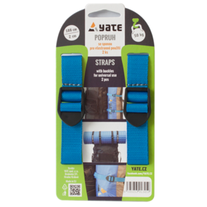 Strap YATE with buckle 2x100 cm 2 pc, Yate