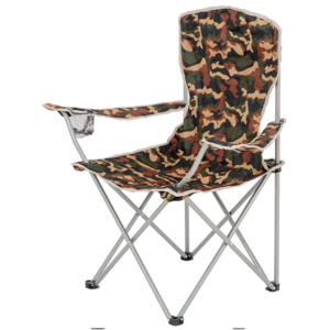 Folding chair with backrests HIGHLANDER MORAY camo, Highlander