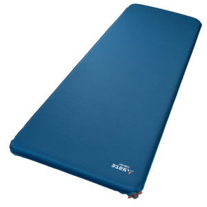 Self inflated sleeping pad YATE COMFORT 5 blue / grey