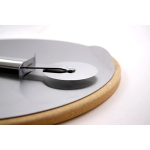 Stone to pizza GrandHall with slicing wheel, Grandhall