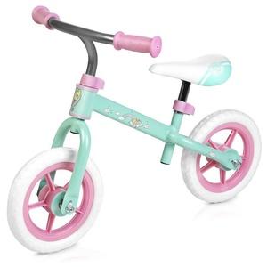 Children push bike Spokey HASBRO ELFIC pastel green-pink, Spokey