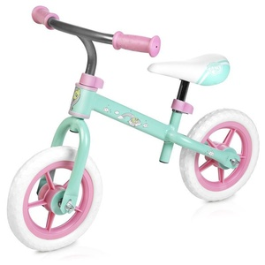 Children push bike Spokey HASBRO ELFIC pastel green-pink, Spokey
