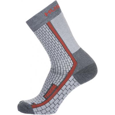 Socks Husky Trekking-New grey / red, Husky