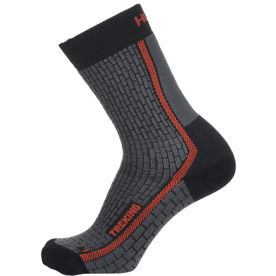 Socks Husky Trekking gray / orange, Husky