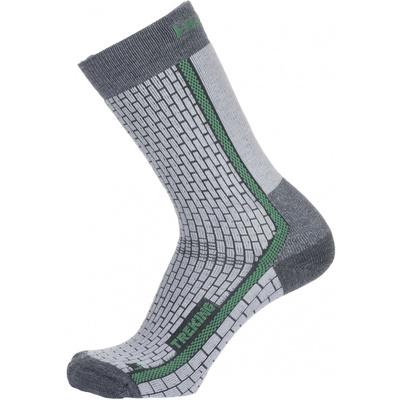 Socks Husky Trekking-New gray / green, Husky