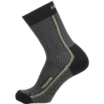 Socks Husky Trekking-New anthracite/sv. green, Husky