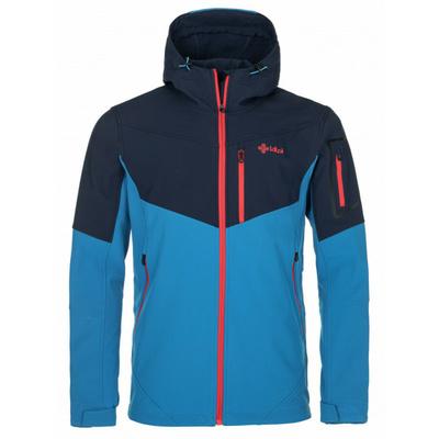 Men's softshell jacket Kilpi PRESENA-M blue