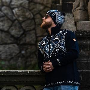 Men Merino sweater Kama 4055 108, Kama