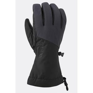 Gloves Rab Pinnacle GTX Glove black / bl, Rab