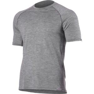 Merino shirt Lasting QUIDO 8484 gray wool