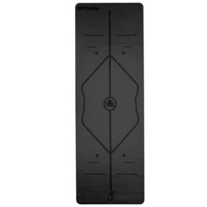 Rubber pad to exercise Spokey JUDY black 1,5 cm, Spokey