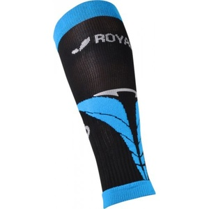 Compression calf covers ROYAL BAY® Air Black / Blue 9588, ROYAL BAY®