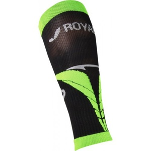Compression calf covers ROYAL BAY® Air Black / Green 9688, ROYAL BAY®