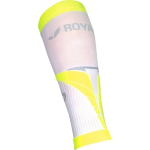 Compression calf covers ROYAL BAY® Air White / Yellow 0188, ROYAL BAY®