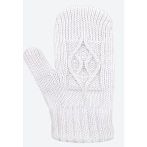 Children knitted Merino gloves Kama RB202 101, Kama