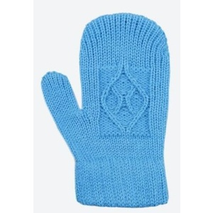 Children knitted Merino gloves Kama RB202 115, Kama