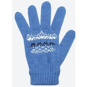 Children knitted Merino gloves Kama RB203 107, Kama