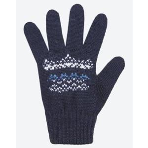 Children knitted Merino gloves Kama RB203 108, Kama