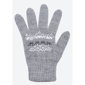 Children knitted Merino gloves Kama RB203 109, Kama