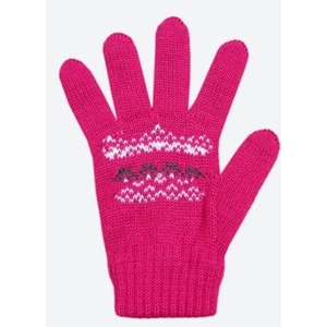 Children knitted Merino gloves Kama RB203 114, Kama