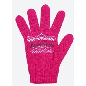 Children knitted Merino gloves Kama RB203 114, Kama