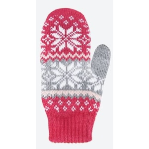 Children knitted Merino gloves Kama RB204 114, Kama