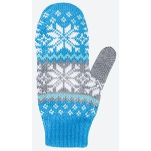 Children knitted Merino gloves Kama RB204 115, Kama