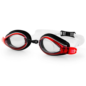 Swimming glasses Spokey KOBRA black and red, Spokey