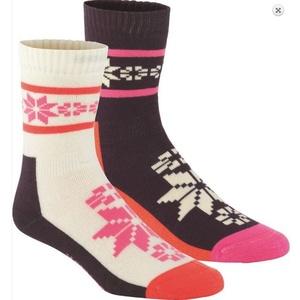Socks Kari Traa RUSA WOOL SOCK 2PK Mau, Kari Traa
