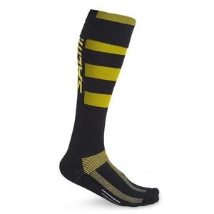 Socks SALMING Coolfeel Teamsock Long Black / Yellow, Salming