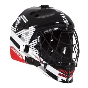 Helmet Salming Core Helmet Black / White / Red, Salming