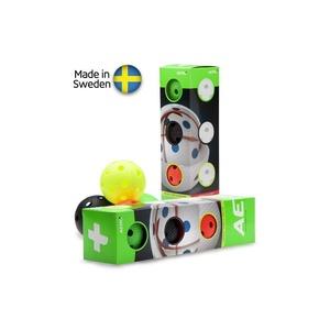 Set floorball balls Salming Aero Plus Ball 4-pack, colour mix, Salming