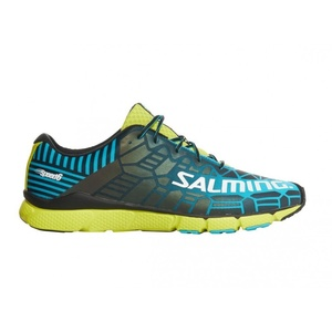 Shoes Salming Speed 6 Men Blue / Lime, Salming