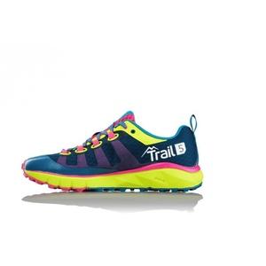 Shoes Salming Trail 5 Women Blue / Flou Yellow, Salming