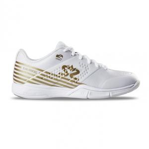 Shoes Salming Viper 5 Shoe Women White / Gold, Salming