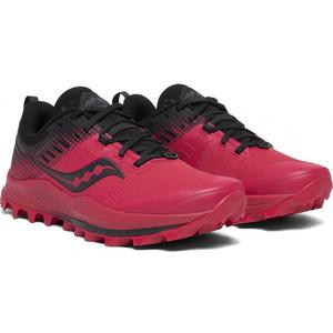 Men running boots Saucony Peregrine 10 Red / Black, Saucony