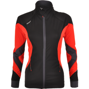 Women jacket Silvini SERRONE WJ1102 black-red, Silvini