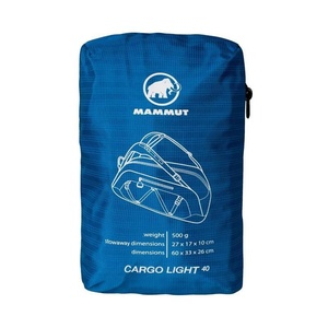 Travel bag MAMMUT CARGO LIGHT 40 dark cyan, Mammut