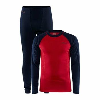 Set CRAFT CORE Warm Baselayer 1909709-396404 dark blue with red, Craft