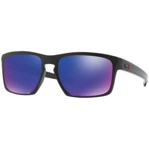 Sun glasses OAKLEY Sliver Matt Black MM w /+ Red Ird OO9262-20, Oakley