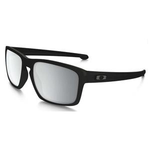 Sun glasses OAKLEY Sliver Machinist Matt Blk w / chrome Irid OO9262-26, Oakley